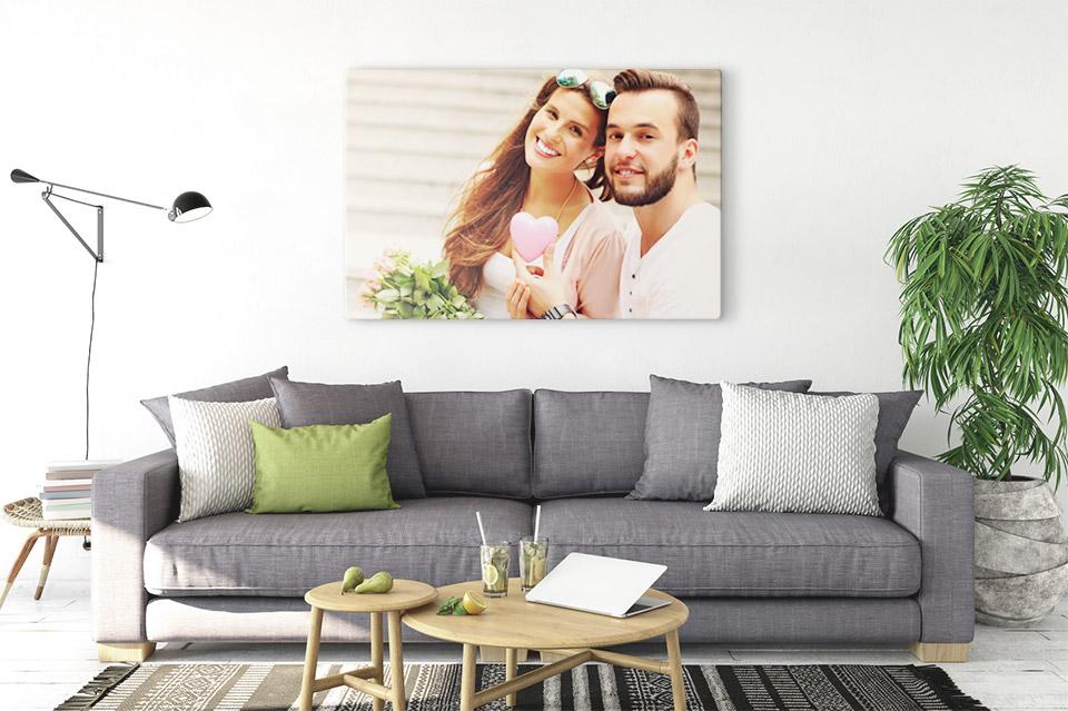 foto auf leinwand drucken wohnraum